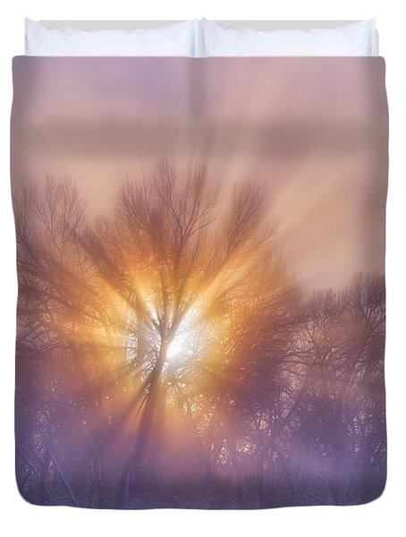 The Rising Duvet Cover