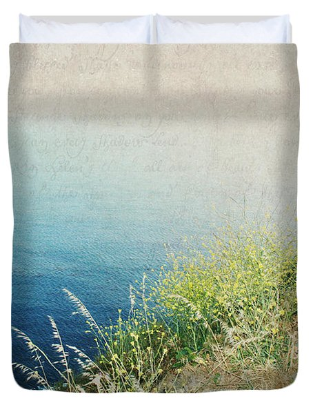 Duvet Cover featuring the photograph The Road Less Travelled by Lisa Parrish