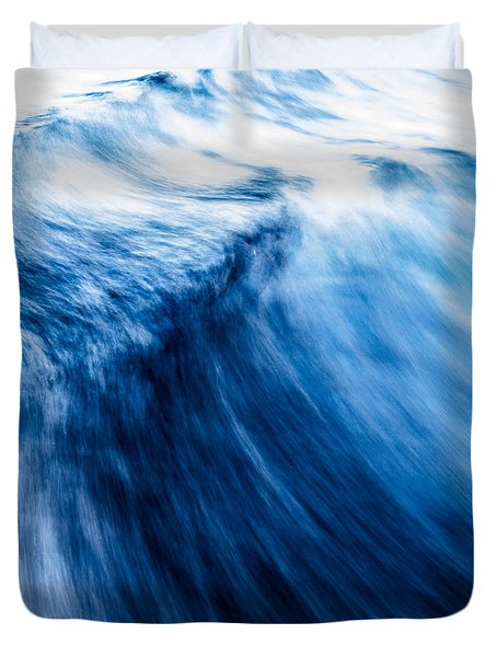 The Roar Of The Sea Duvet Cover
