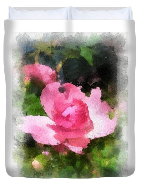 The Rose Duvet Cover by Kerri Farley