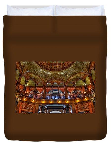 The Rotunda 2 Duvet Cover