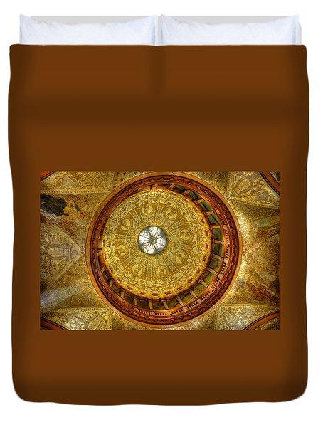 The Rotunda Duvet Cover