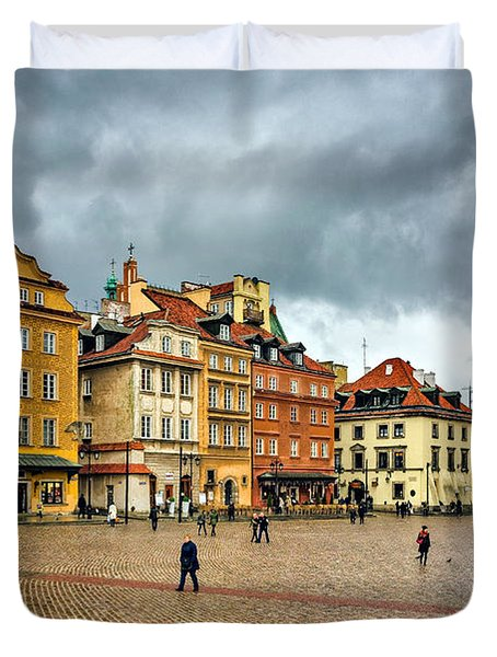The Royal Castle Square Duvet Cover