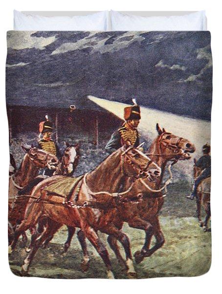 The Royal Horse Artillery Drive Duvet Cover