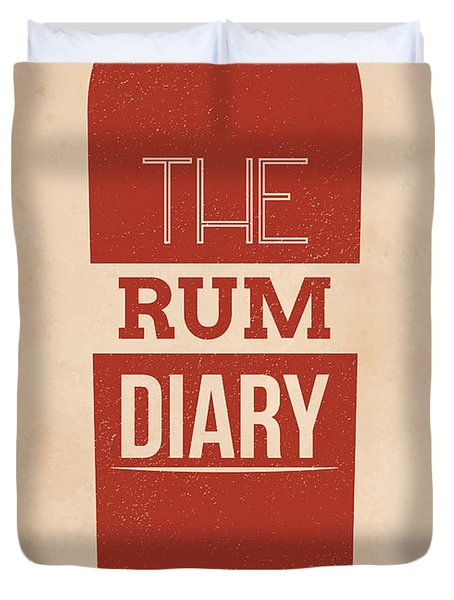 The Rum Diary Duvet Cover