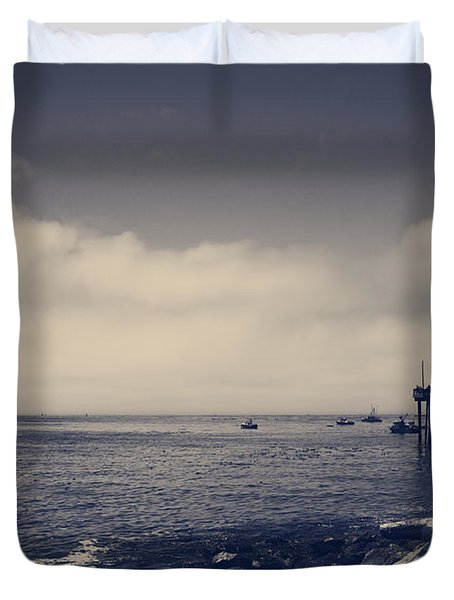 The Salty Air Duvet Cover by Laurie Search