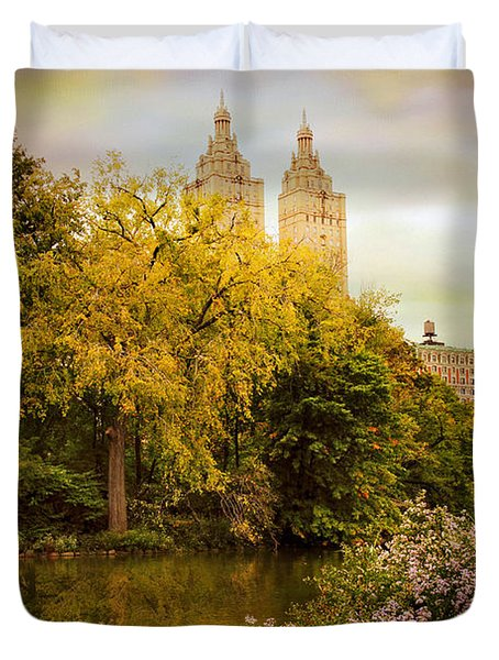 Duvet Cover featuring the photograph The San Remo by Jessica Jenney