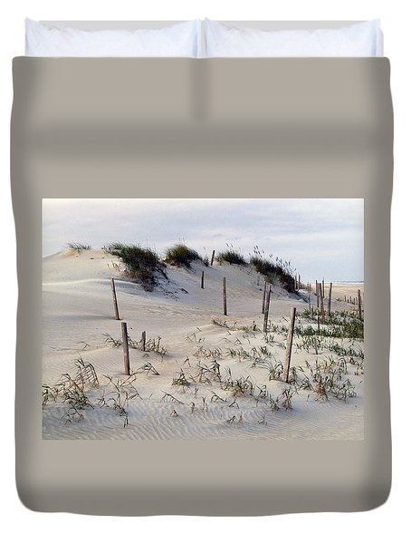 The Sands Of Obx Duvet Cover