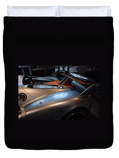 The Sculptured Rear 918 R S R Duvet Cover