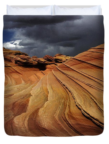 The Second Wave Duvet Cover