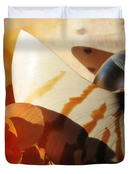 The Secret Of The Sea Duvet Cover