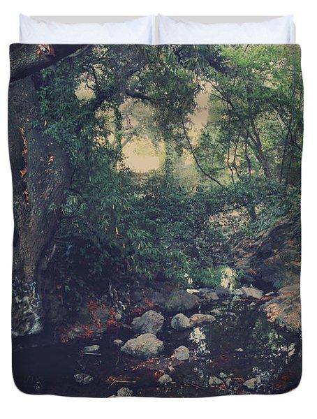 The Secret Spot Duvet Cover by Laurie Search