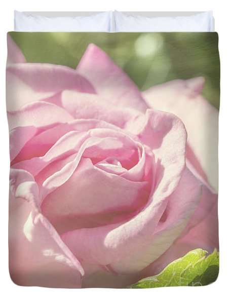 The Secrets Of Heaven And Earth Duvet Cover by Linda Lees