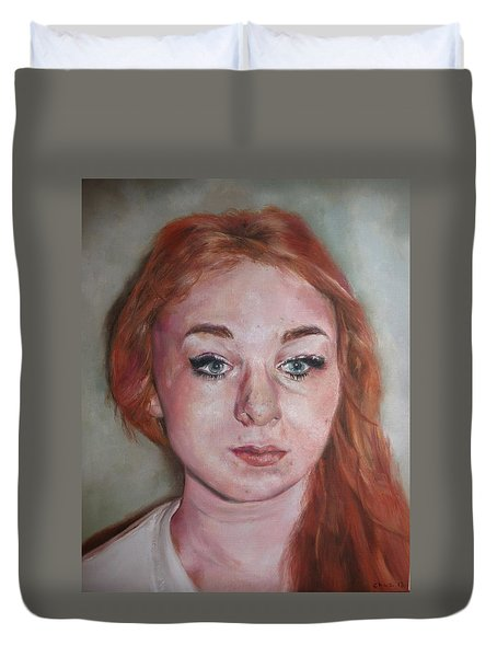 The Self Duvet Cover by Cherise Foster