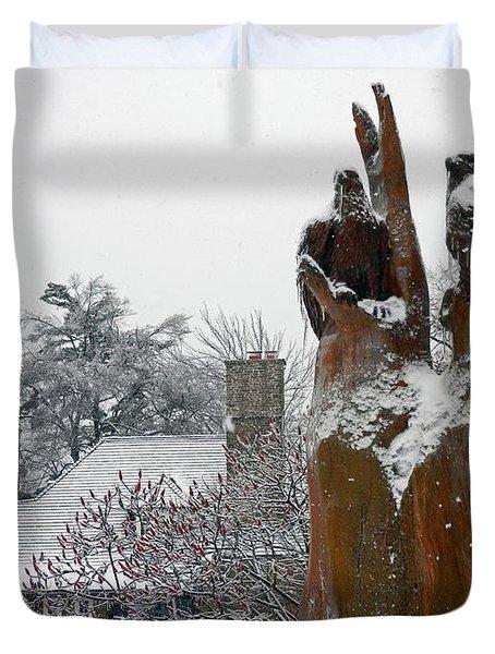The Sentinels Duvet Cover