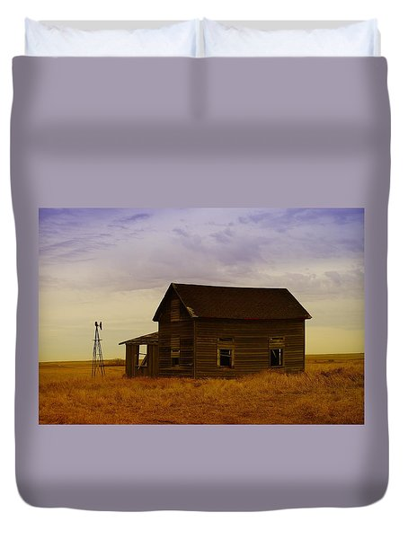 The Shambles Of Dreams Gone By Duvet Cover by Jeff Swan