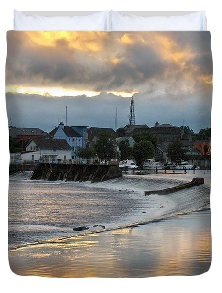 The Shannon River Duvet Cover by Brenda Brown