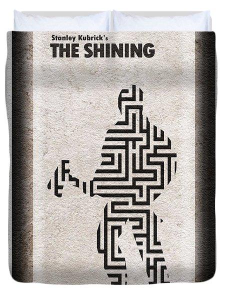 The Shining Duvet Cover by Ayse Deniz