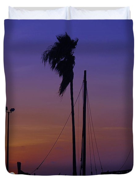 Duvet Cover featuring the photograph The Ship by Leticia Latocki