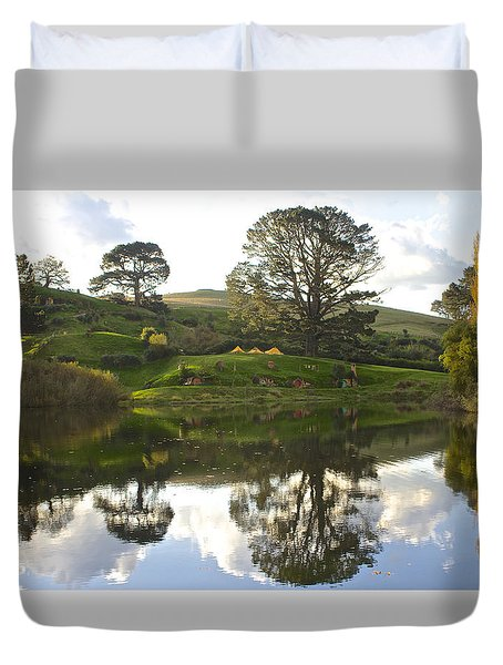 The Shire Middle Earth Duvet Cover