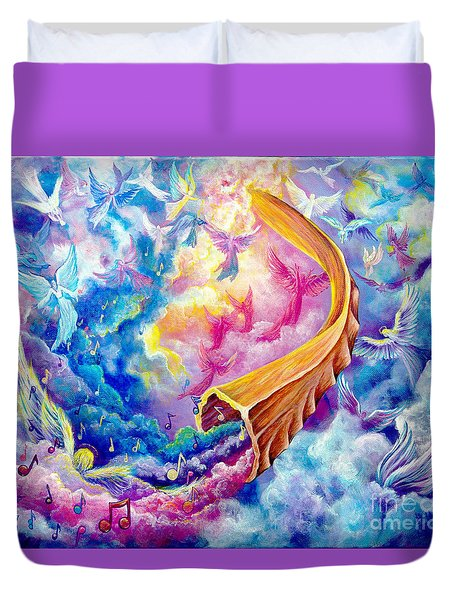 The Shofar Duvet Cover