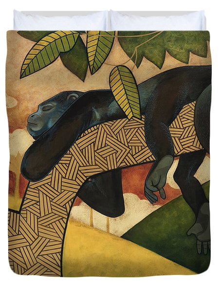 The Siesta Duvet Cover by Nathan Miller