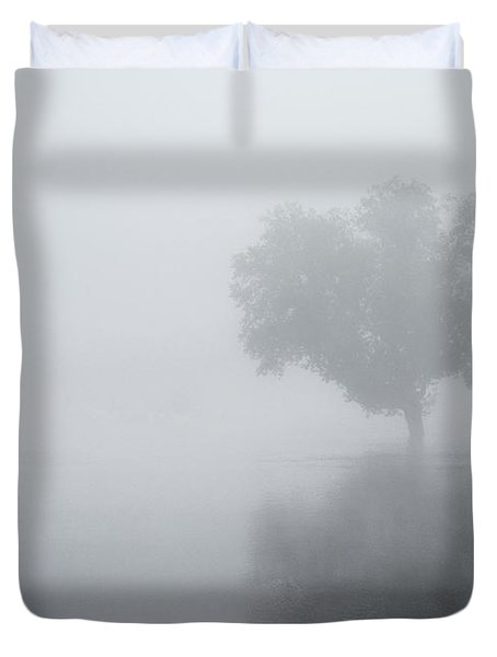 The Silence Is Deafening Duvet Cover
