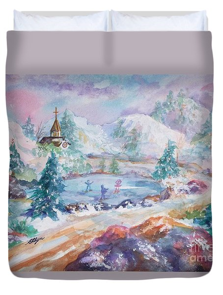 The Skaters Duvet Cover