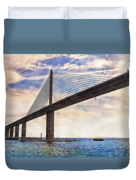 The Skyway Duvet Cover