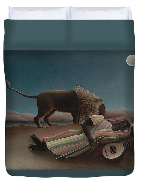 The Sleeping Gypsy Duvet Cover