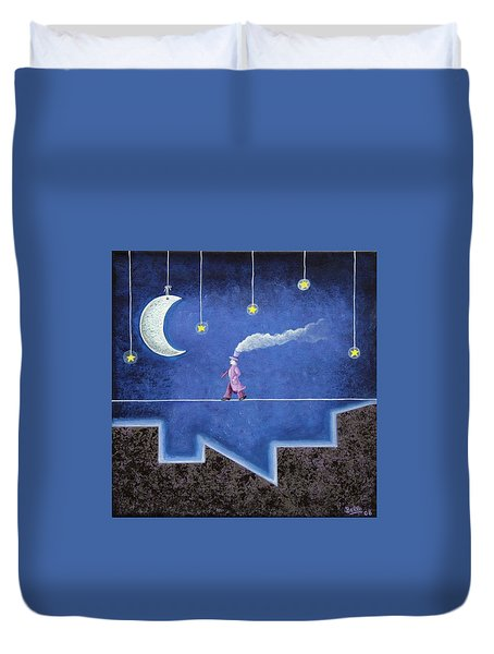The Sleepwalker I Duvet Cover