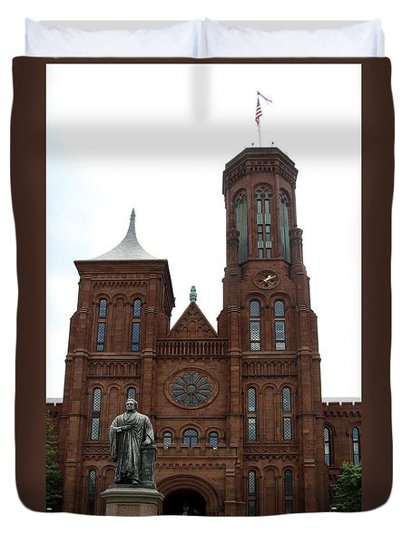 The Smithsonian - Washington Dc Duvet Cover by Christiane Schulze Art And Photography