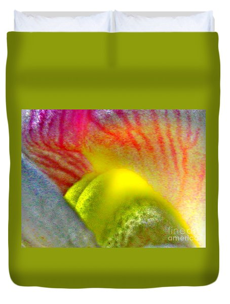 Duvet Cover featuring the photograph The Snapdragon - Flower by Susan Carella