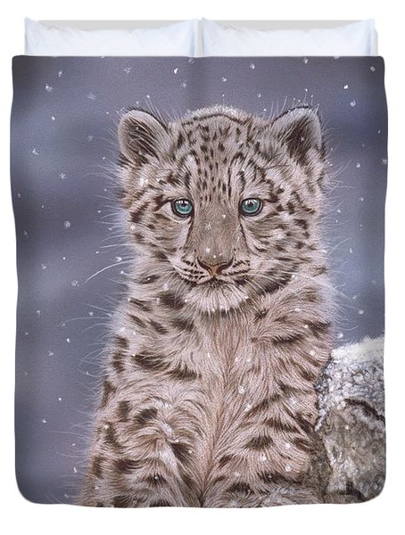 The Snow Prince Duvet Cover