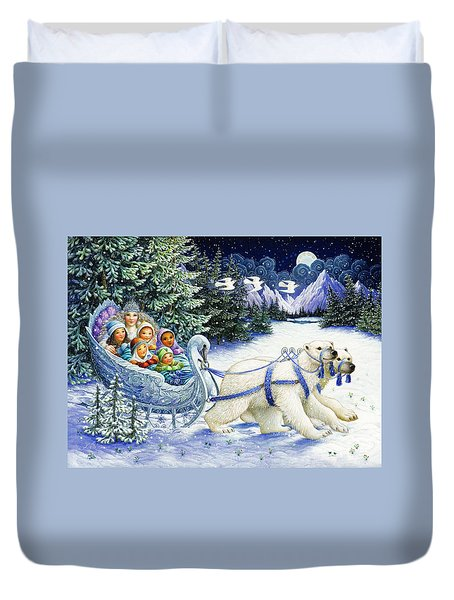 The Snow Queen Duvet Cover