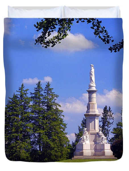 The Soldiers Monument Duvet Cover