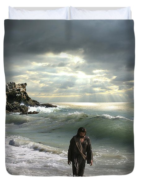 The Son Is The Radiance Of God's Glory Duvet Cover