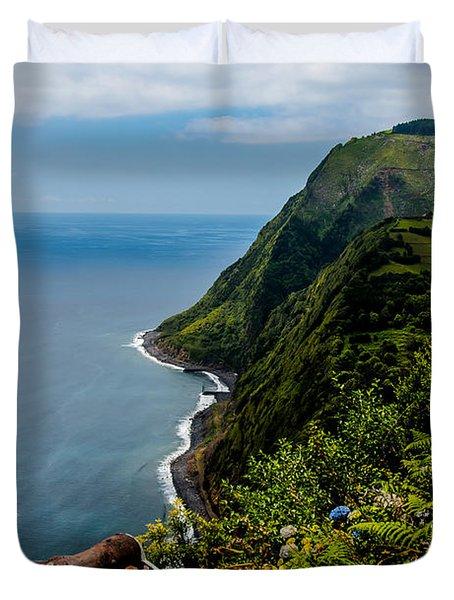 The Southeastern Coast Duvet Cover