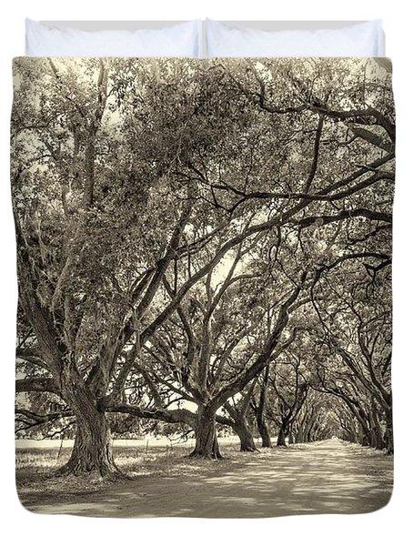 The Southern Way Sepia Duvet Cover by Steve Harrington