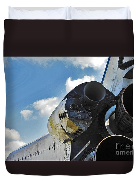 The Space Shuttle Endeavour Duvet Cover