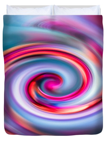 The Spiral Duvet Cover by Hannes Cmarits