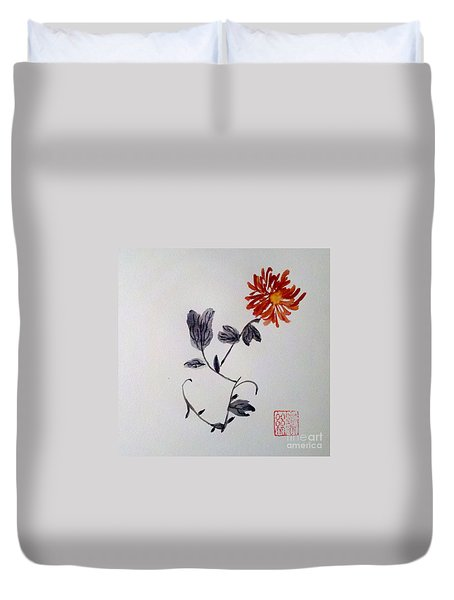 The Spirit Of Autumn Duvet Cover