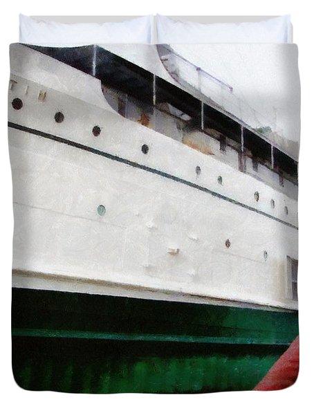 The S.s. Keewatin Duvet Cover