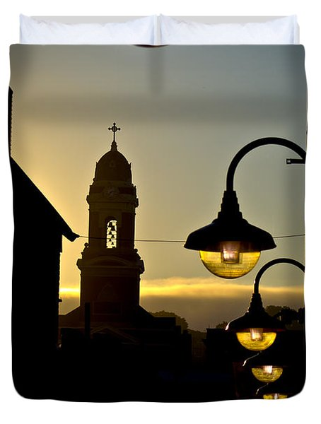 The St. Paul Church Duvet Cover
