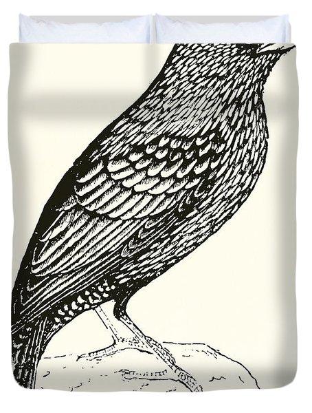 The Starling Duvet Cover