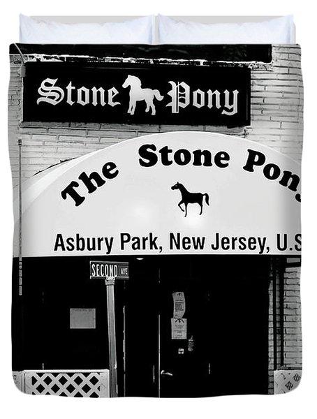 The Stone Pony Asbury Park Nj Duvet Cover