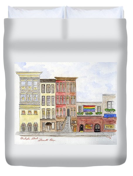 The Stonewall Inn Duvet Cover