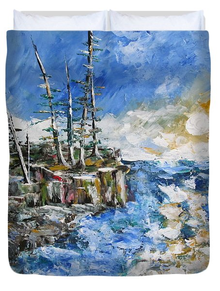 The Storm Duvet Cover by Beverly Livingstone