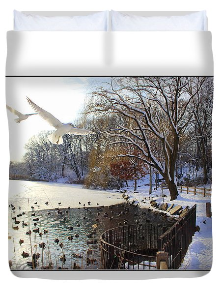 The End Of The Storm Duvet Cover