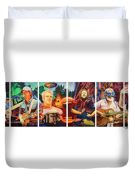 The String Cheese Incident At Horning's Hideout Duvet Cover by Joshua Morton